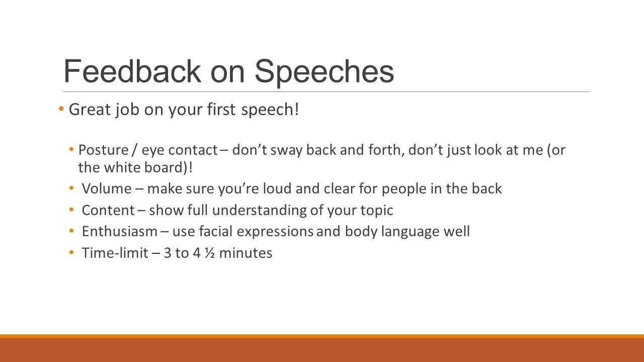 Speech and Debate WEEK 6  Schedule 1 Welcome! Attendance 2 Quiz 3