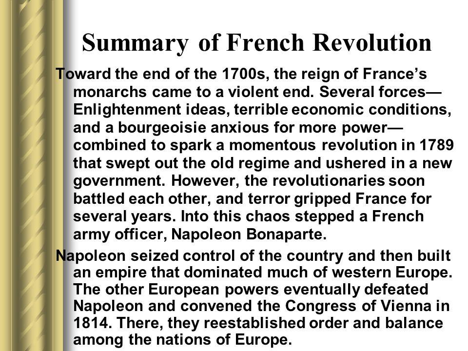 french revolution summary - 720×540
