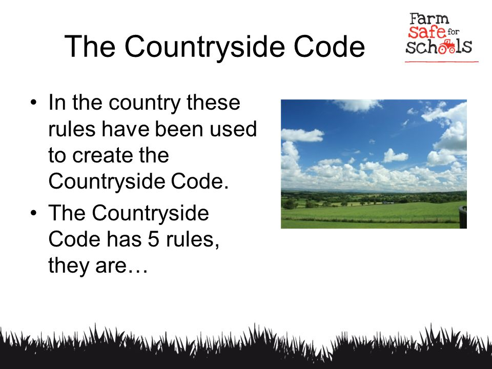 countryside code quiz