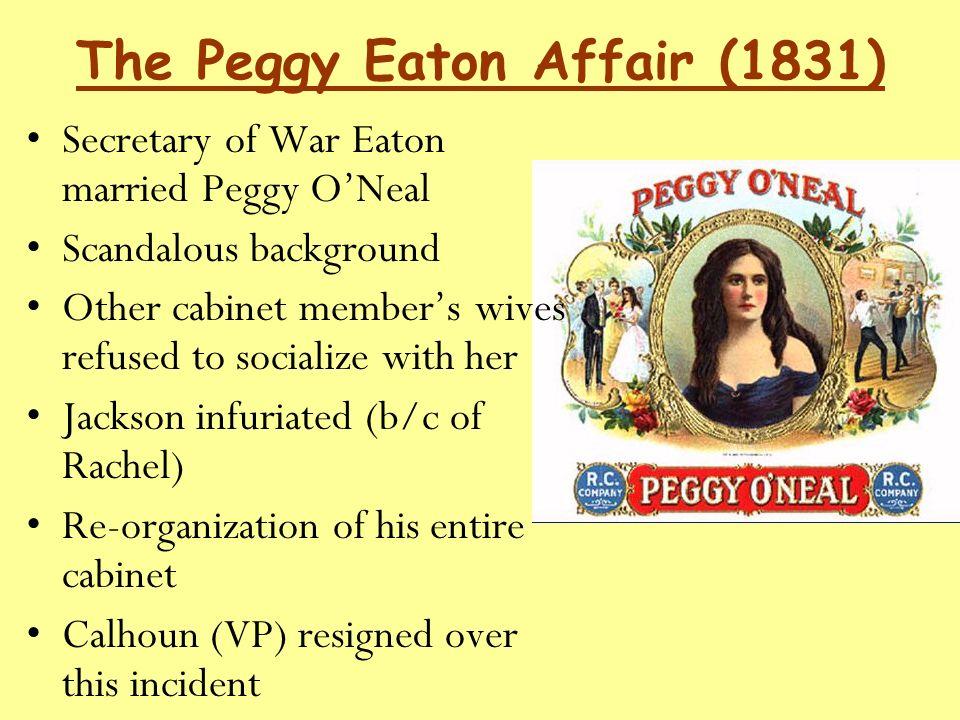 peggy eaton scandal