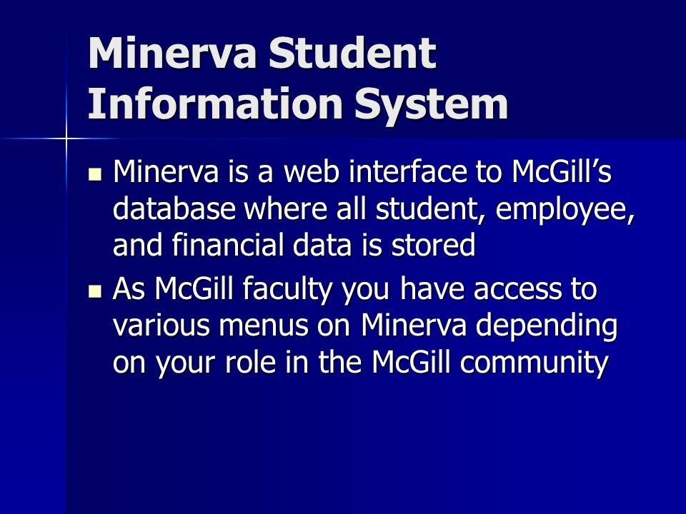 minerva mcgill