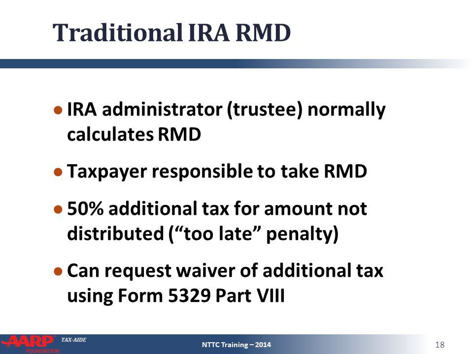 Tax Aide Retirement Income Iras And Pensions Pub 4491 Part 3 Pub