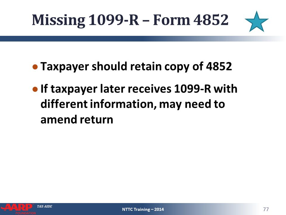 Tax Aide Retirement Income Iras And Pensions Pub 4491 Part 3 Pub