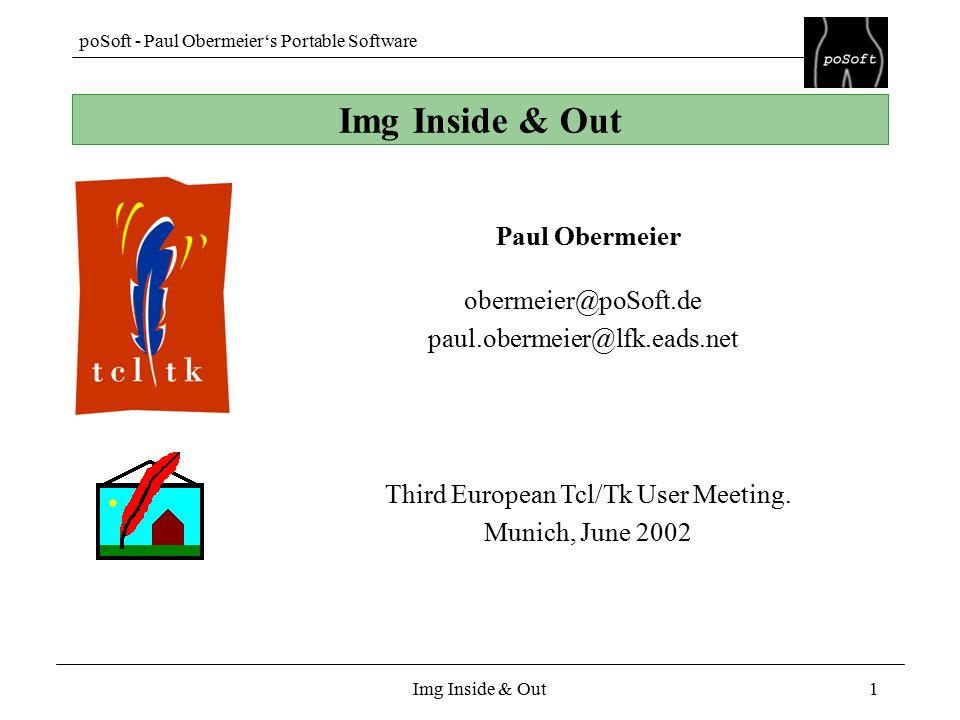 PoSoft - Paul Obermeier's Portable Software Img Inside & Out1 Paul