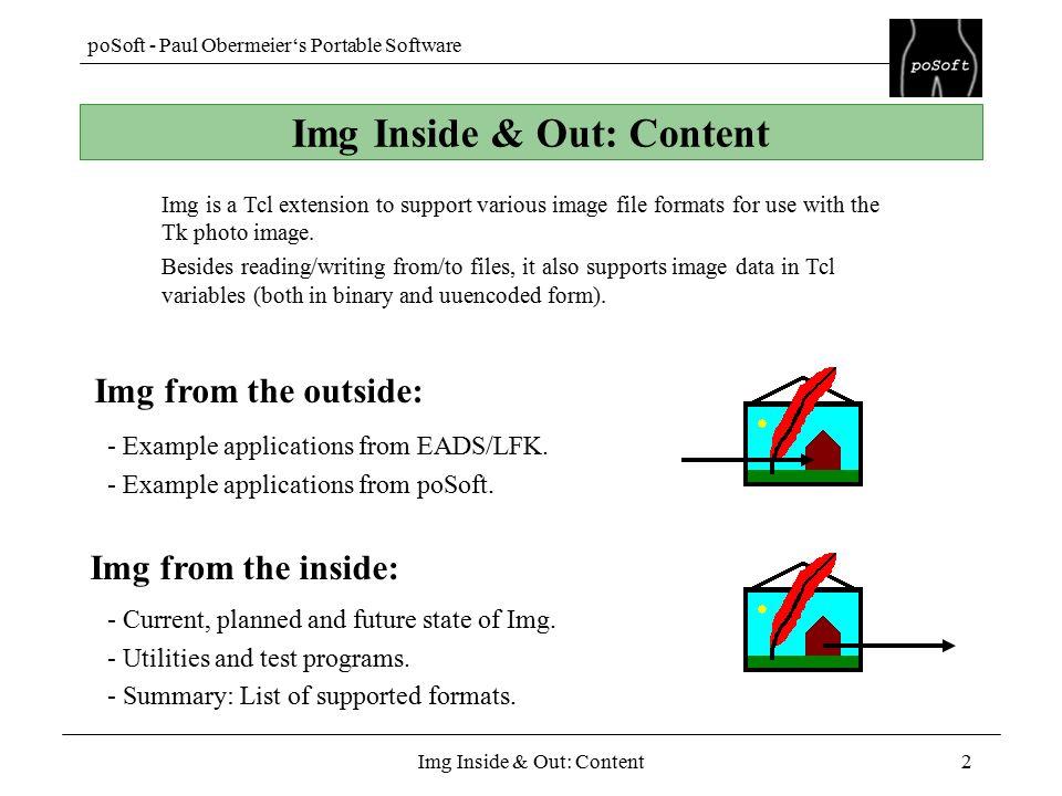 PoSoft - Paul Obermeier's Portable Software Img Inside