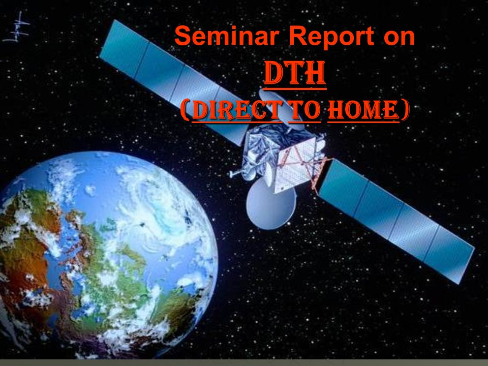 research paper on dth services in india-1