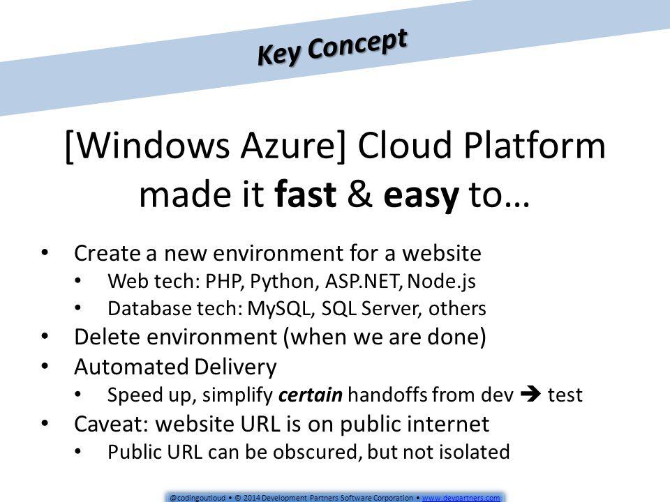 @codingoutloud © 2014 Development Partners Software Corporation © 2014 Development Partners Software. - ppt download - 웹