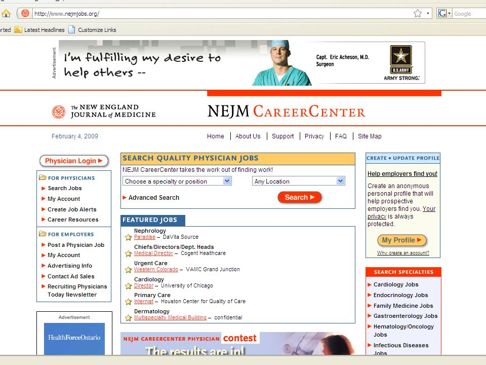 NEJM & JW Online February 6, Our challenges may be new