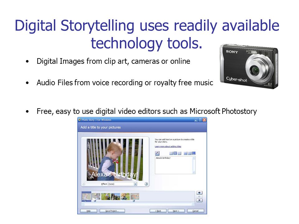 Express Ideas Compellingly with Digital Storytelling Adapted