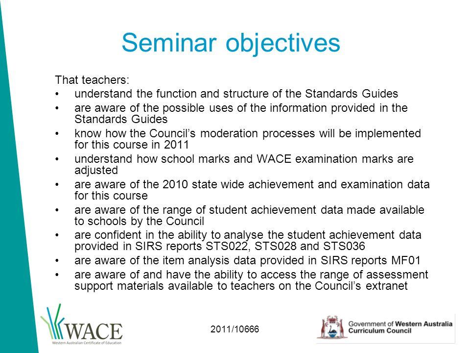 2011 10666 assessment seminar 2011 english john watson ppt download rh slideplayer com Wace Disney Wace Conference
