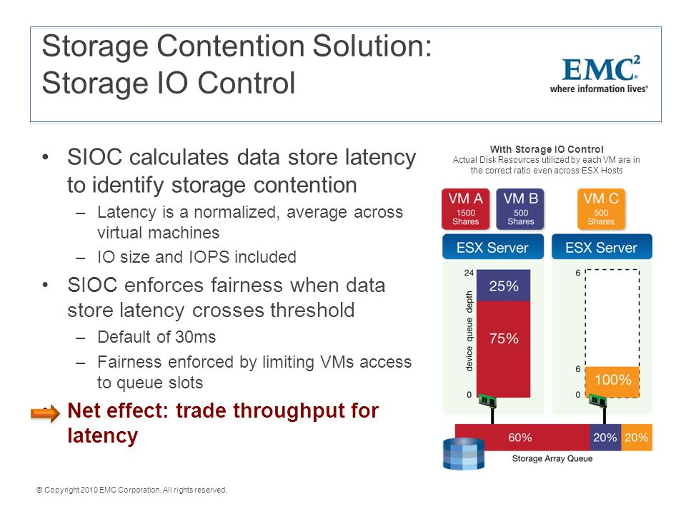 Improving Disk Latency and Throughput with VMware Presented