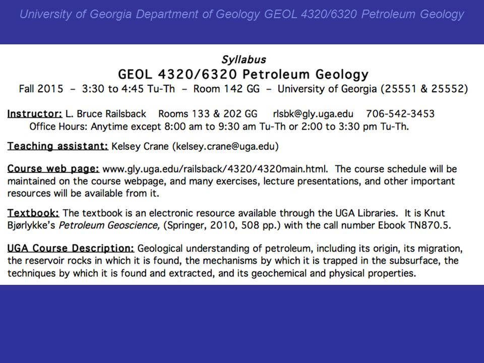 University of georgia department of geology geol 43206320 petroleum 10 fandeluxe Images
