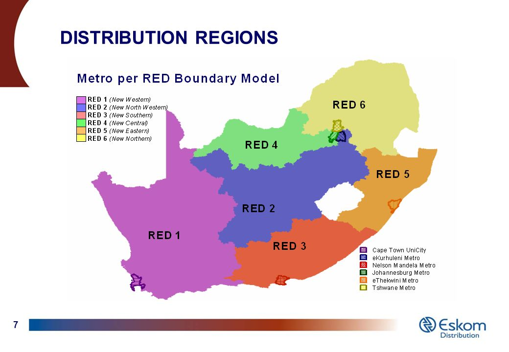 1 Eskom : Distribution Division (Electrification) Select Committee