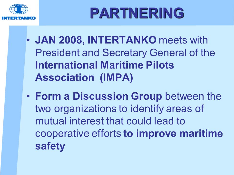 INTERNATIONAL MARITIME PILOTS ASSOCIATION (IMPA) CONGRESS