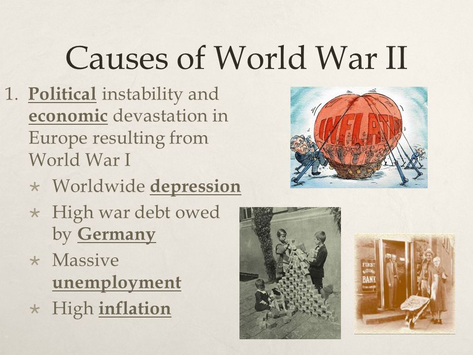 Causes of World War II 1.