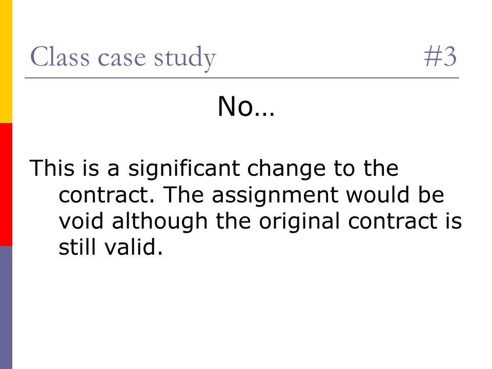void contract case study