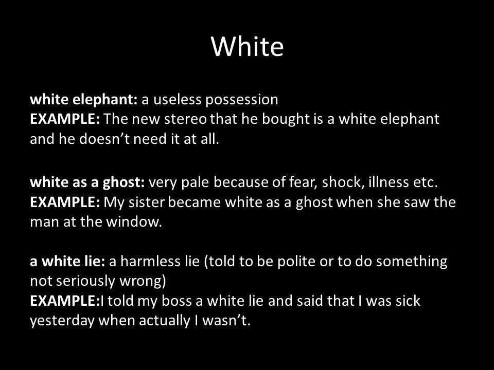 11 White