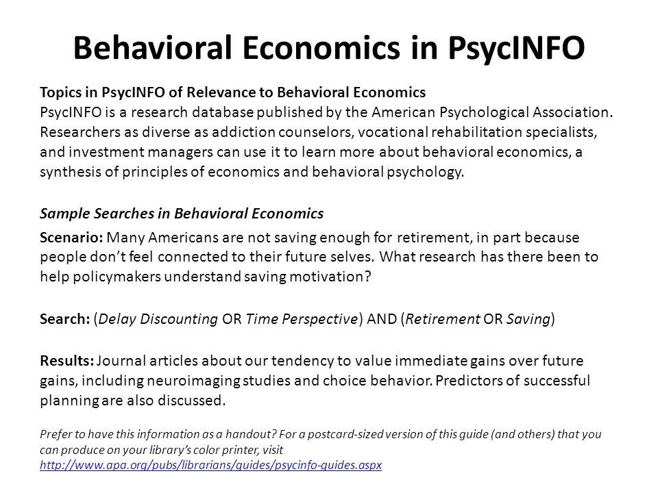 behavior topics