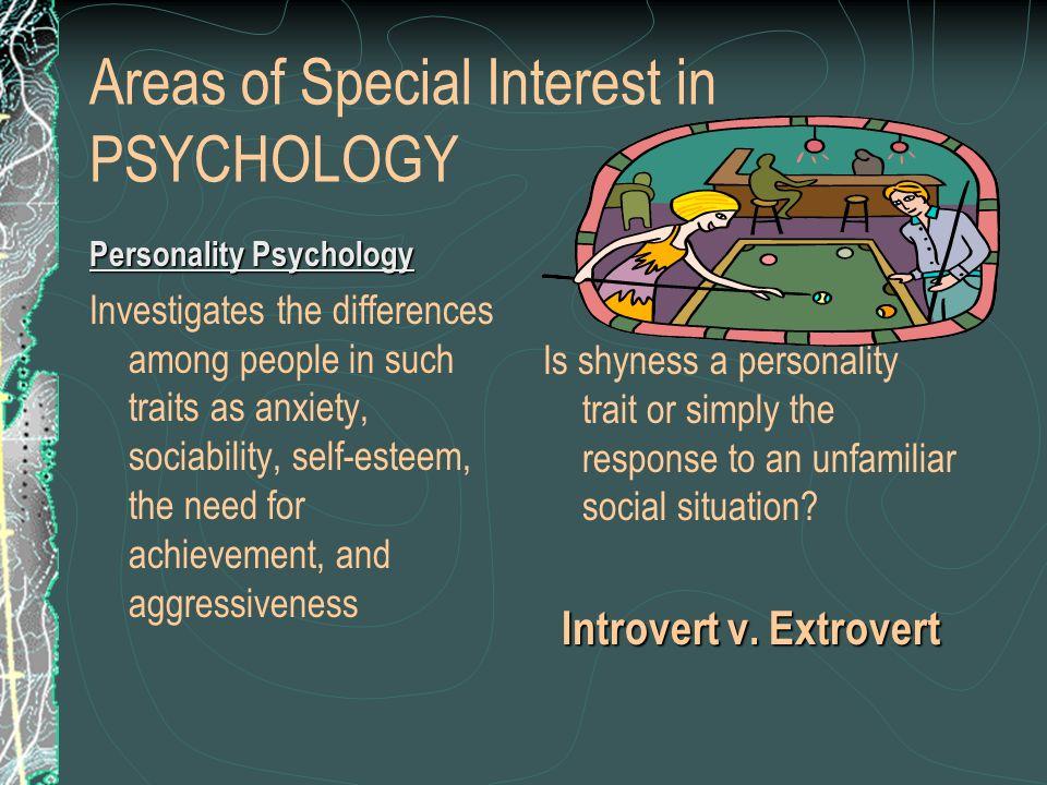 psychology topics of interest