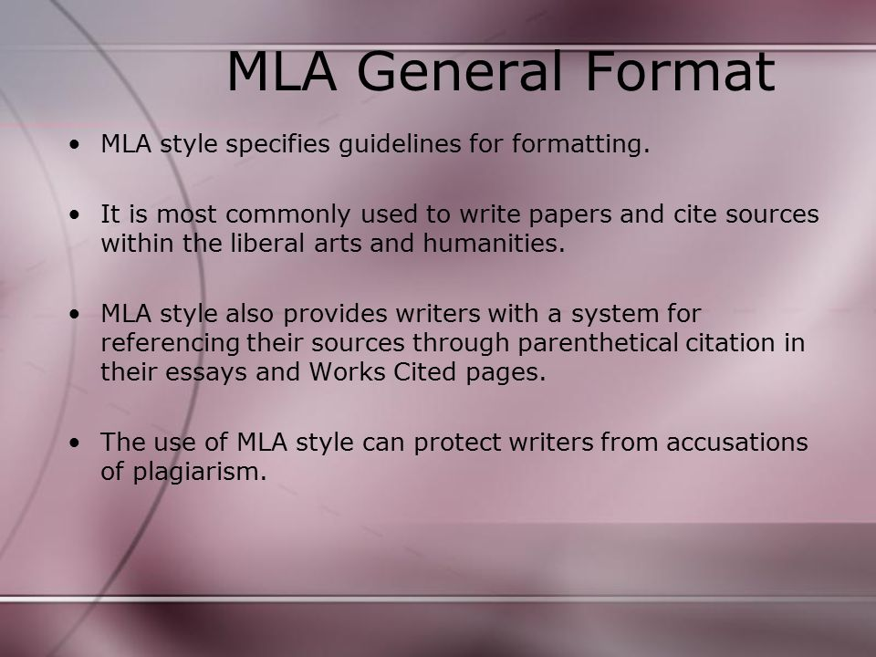 modern languages association mla mla 2009 formatting and style