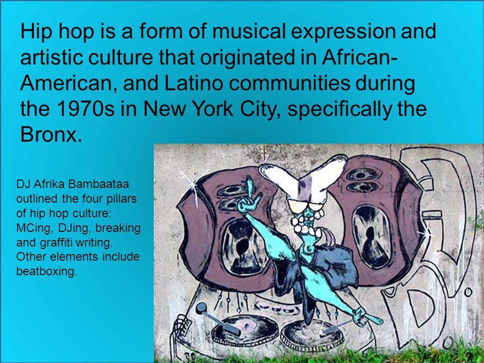 Hip hop a culture an expression a