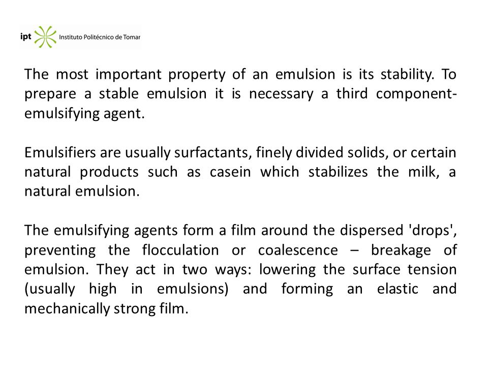 Surface and Interface Chemistry  Emulsions Valentim M  B
