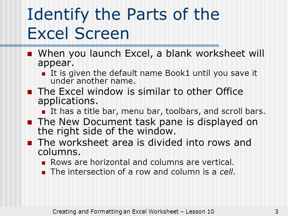 Ic 3 Basics Inter And Puting Core Certification Key. Creating And Formatting An Excel Worksheet Lesson 103 Identify The Parts Of Screen. Worksheet. Excel Worksheet Gray Screen At Clickcart.co