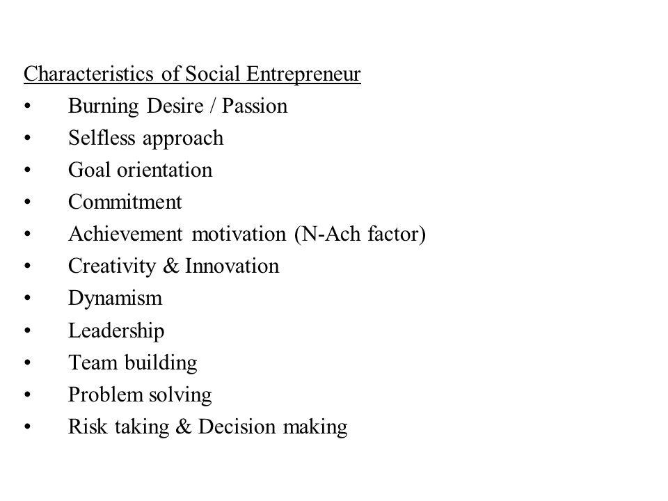 ENTREPRENEURSHIP MANAGEMENT Social Entrepreneurship Prof