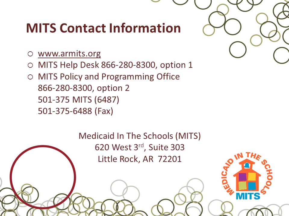 Making The Mits Process Work For Your District Mits Help