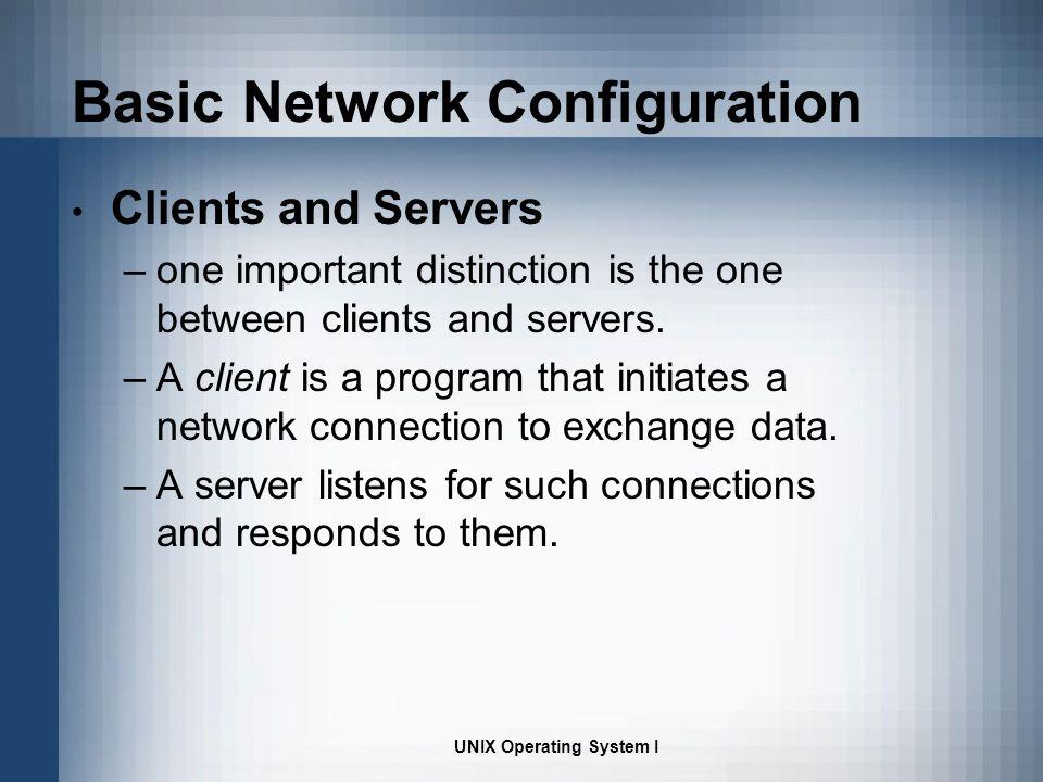 importance of unix operating system