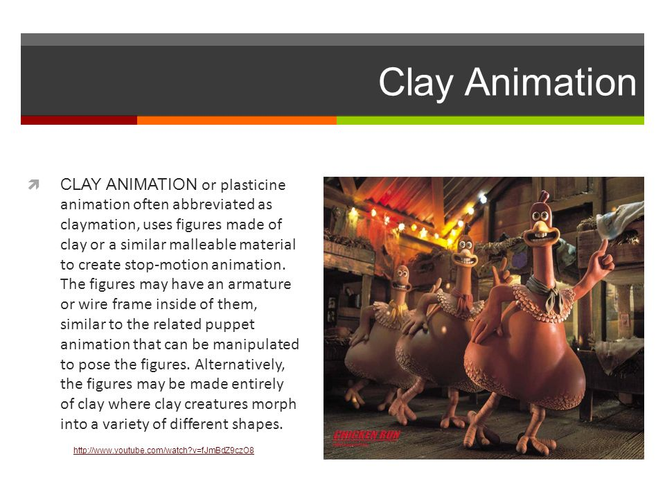 STOP-MOTION ANIMATION. Stop-Motion Animation  Stop motion (also ...