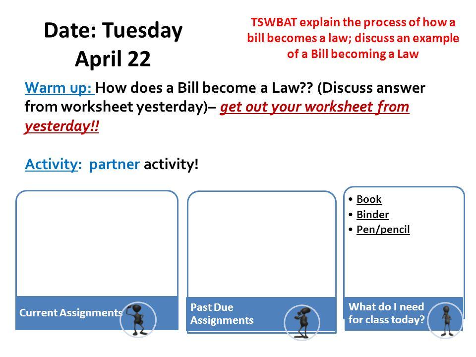 Bill To Law Political Parties Date Monday April 21 Tswbat Explain