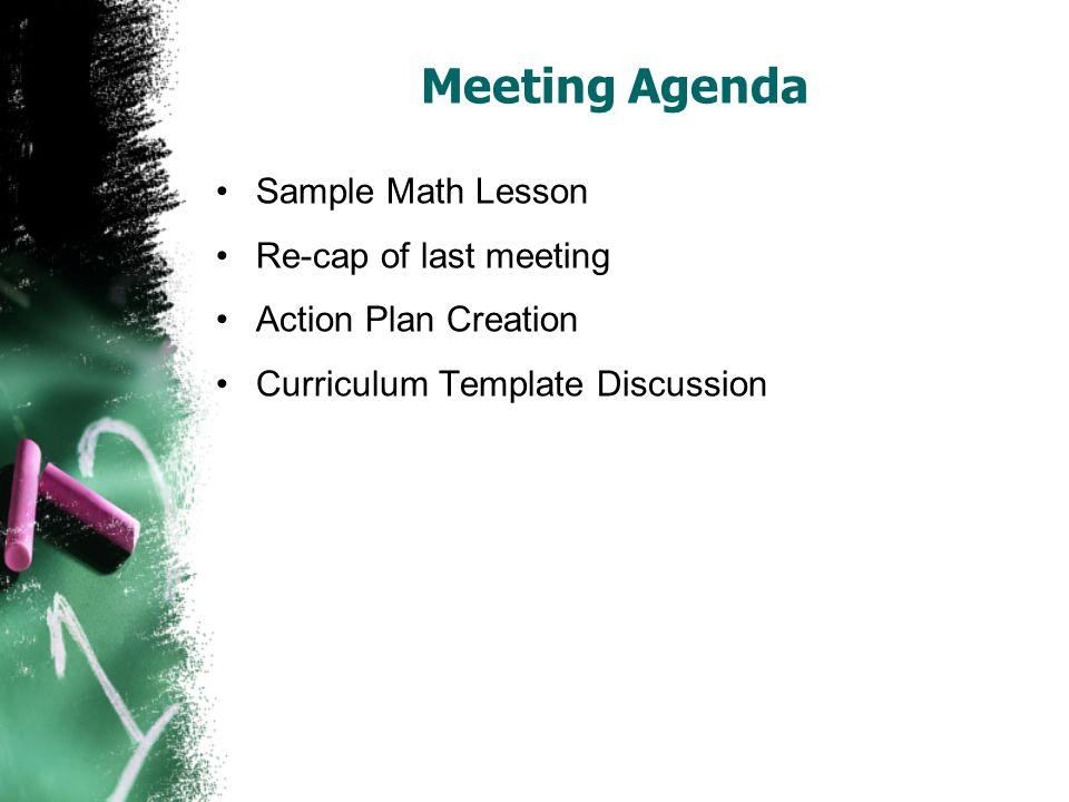 elementary mathematics curriculum revision writing meeting february