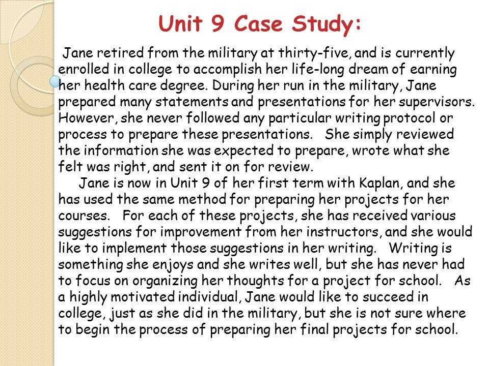 CS119 Unit 9 Seminar Adrienne D-Steverson Kaplan University