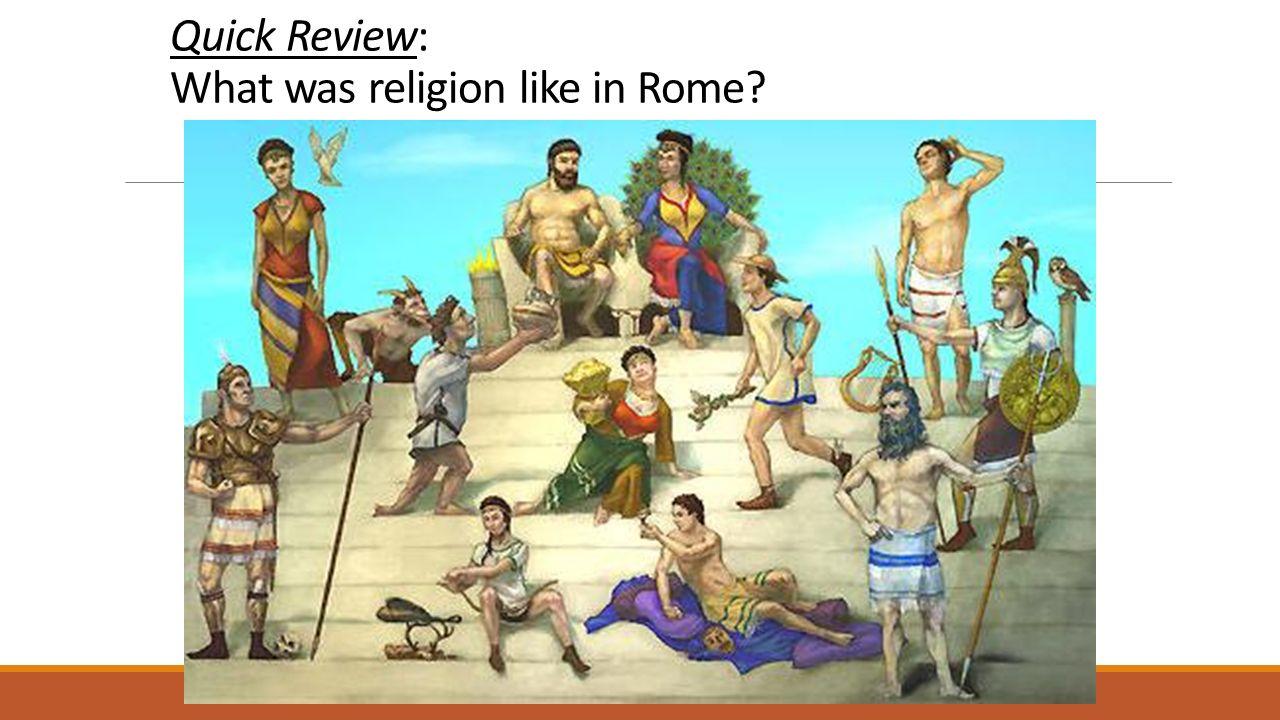 Quick Review: What was religion like in Rome