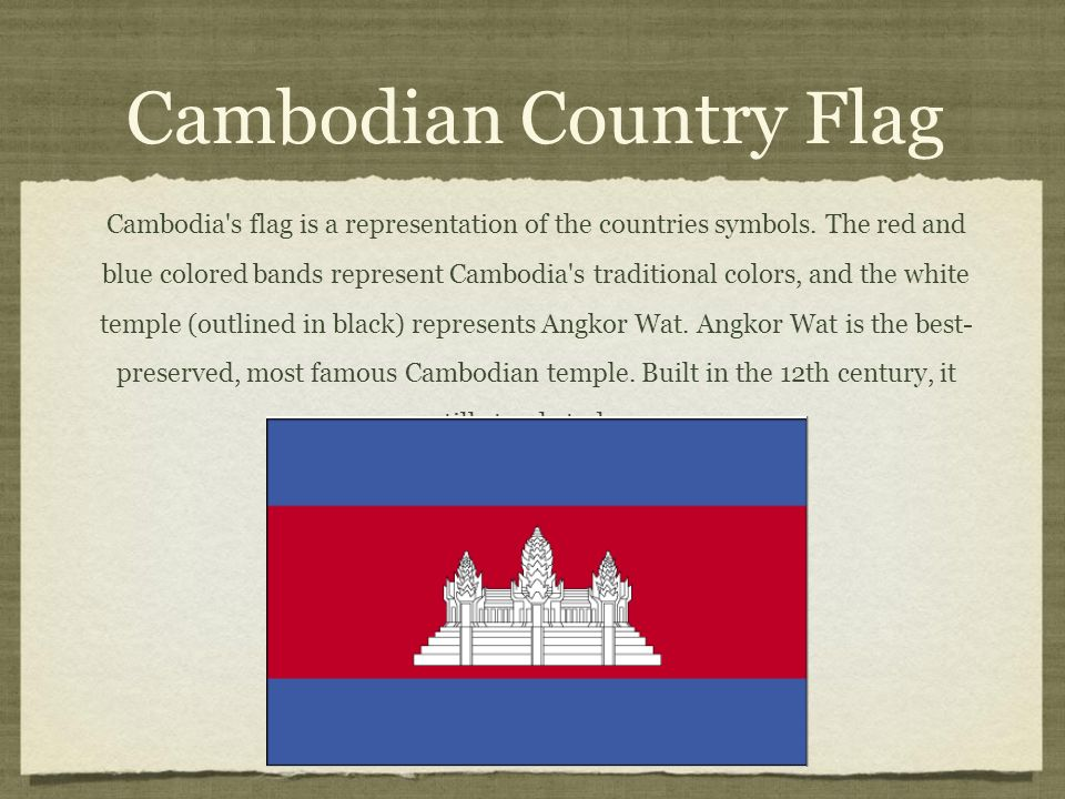 Kingdom Of Cambodia Text Cambodian National Anthem Click Url To See