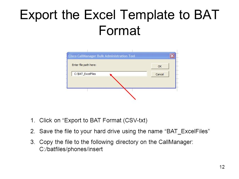 1 Bulk Administration Tool BAT Installation and