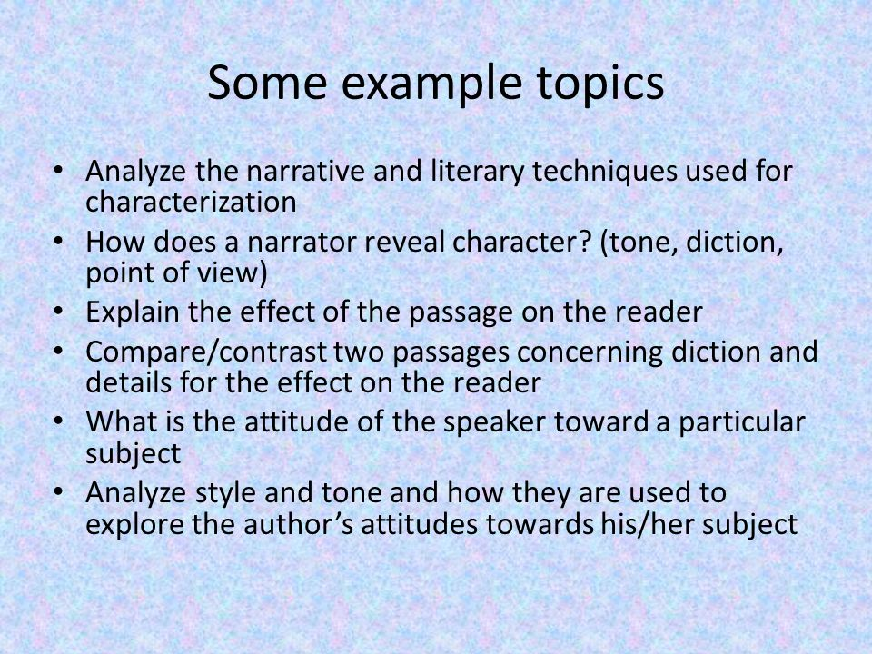 non fiction analysis essay example