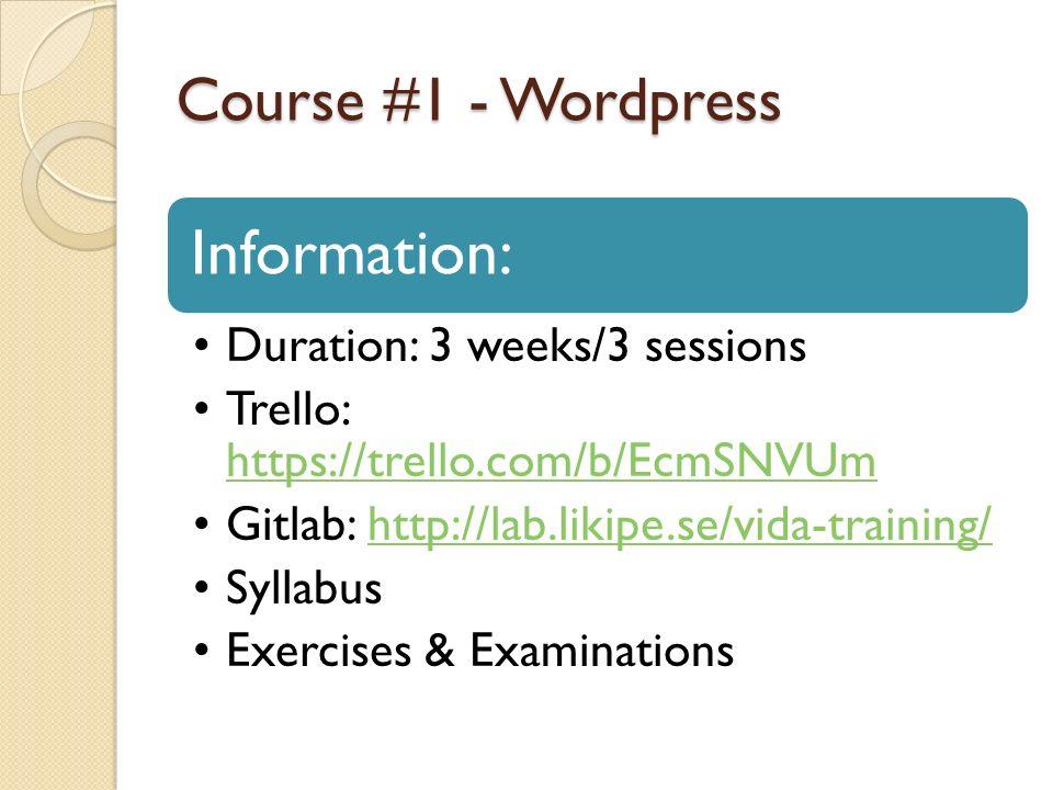 VIDA Introductions - VIDA ?!?!?!?! - Coding standards