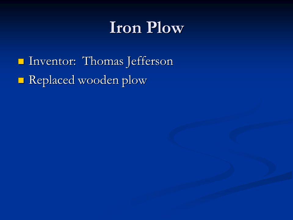jefferson inventions