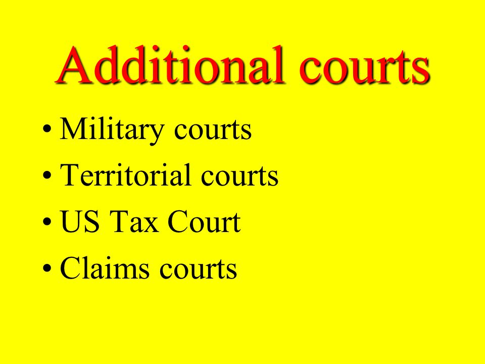Courts of Appeals these courts only hear cases that are appealed from lower courts appellate jurisdiction