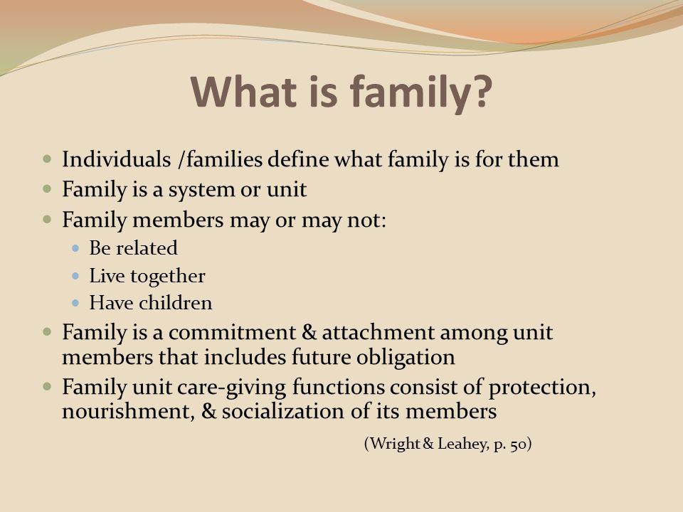 Competency 3 The Family Developed By Dede Carr Bs Lda Karen Neu