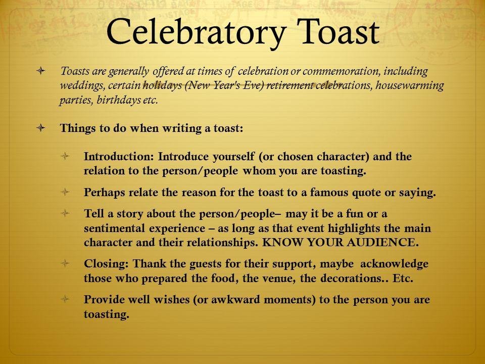 12 celebratory