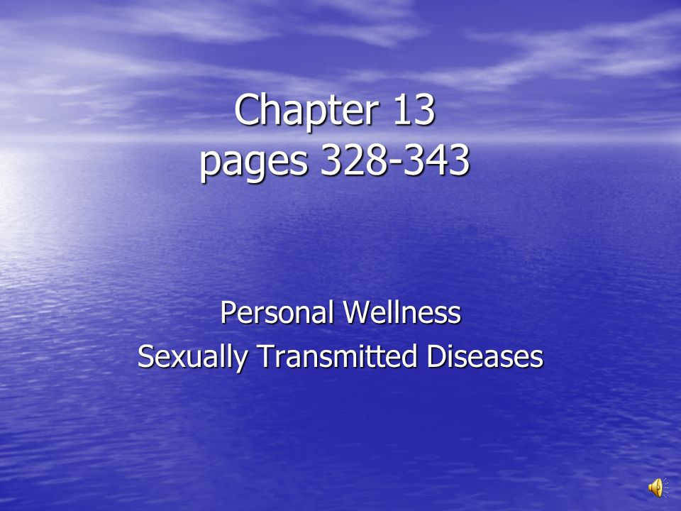 Chapter 24 sexually transmitted diseases and hiv/aids awareness