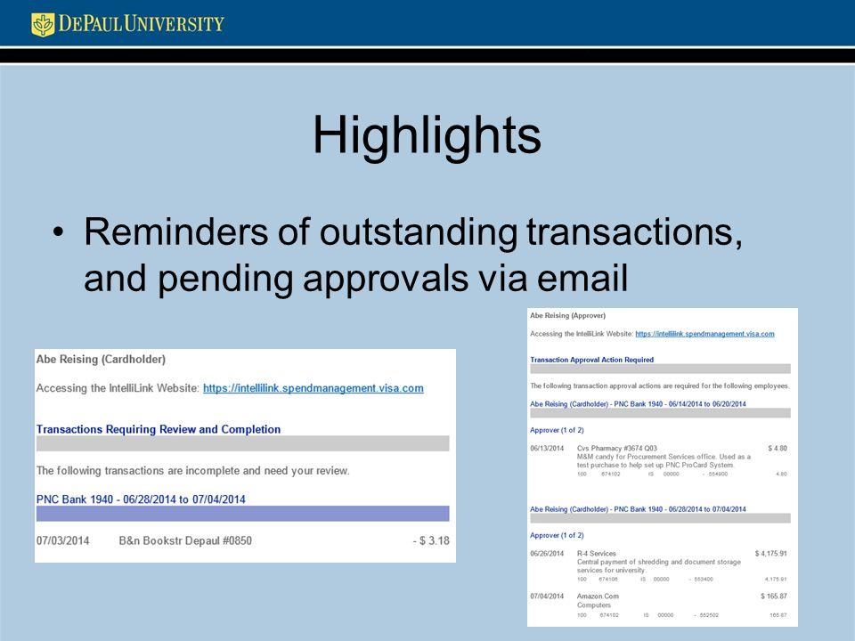 ProCard Rollout PNC Bank & Visa IntelliLink Procurement