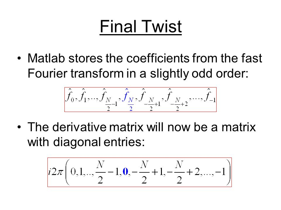 Lecture 22 MA471 Fall Advection Equation Recall the 2D advection