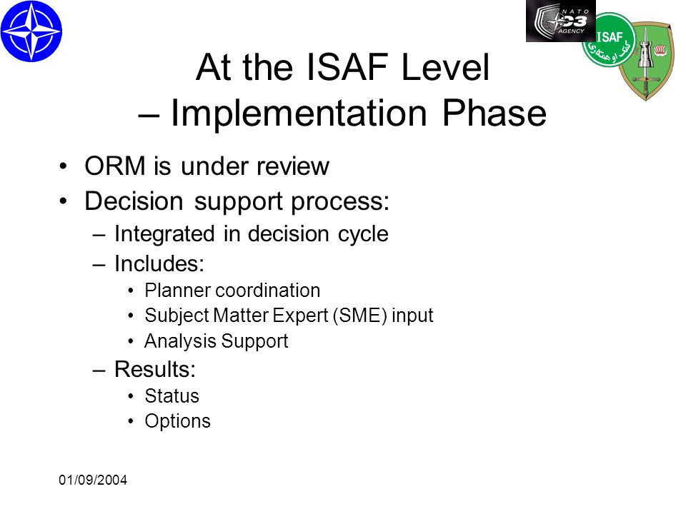01/09/2004 Interacting with the Decision Maker – ISMOR 2004