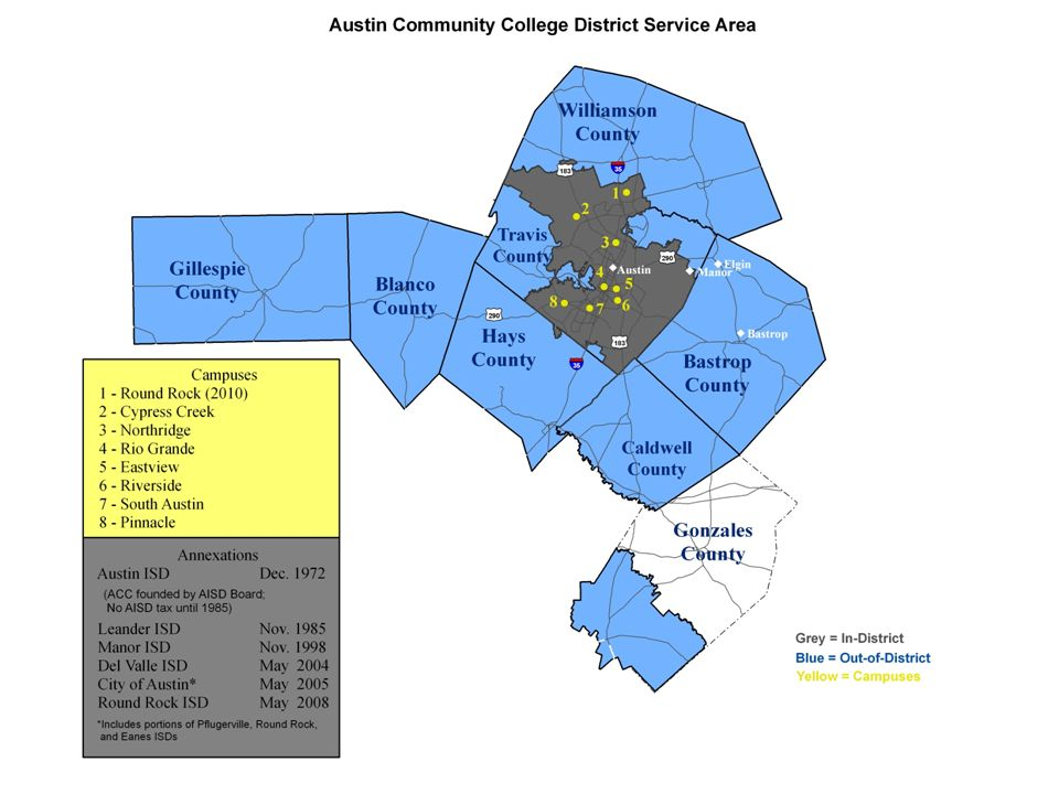 Acc S Annexation Process And Update On The Round Rock Campus