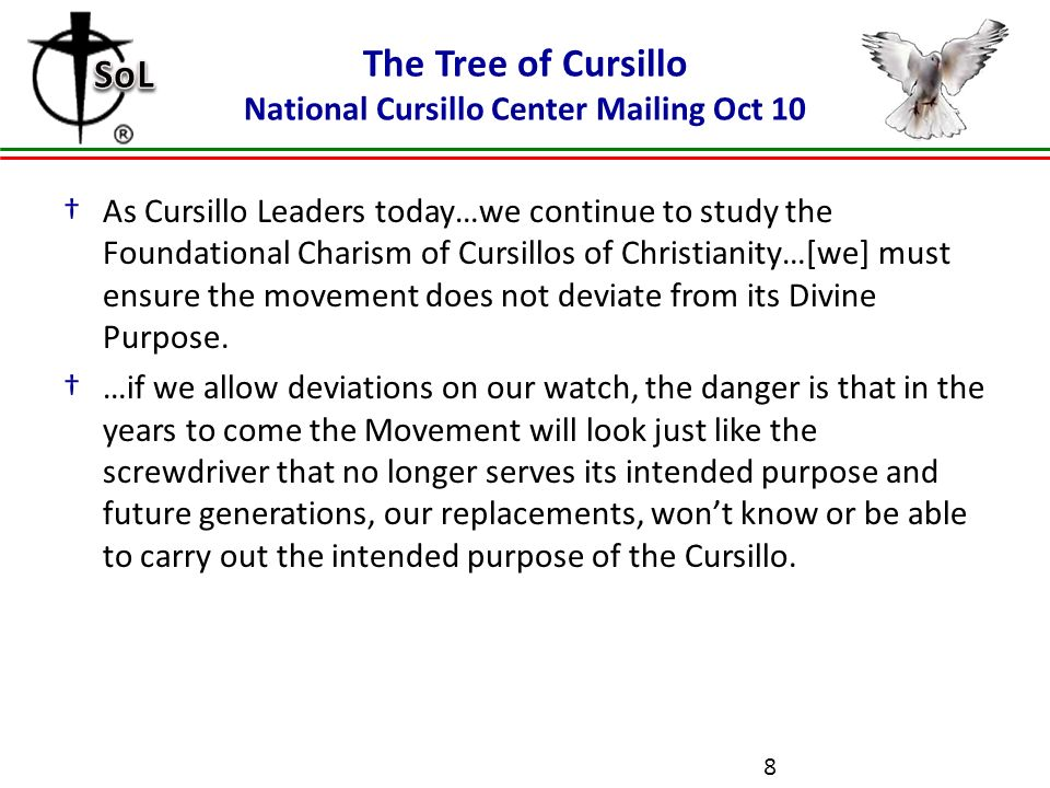 grouping school of leaders july diocese of birmingham alabama u201ca rh slideplayer com Catholic Cursillo Logo Cursillo Cross