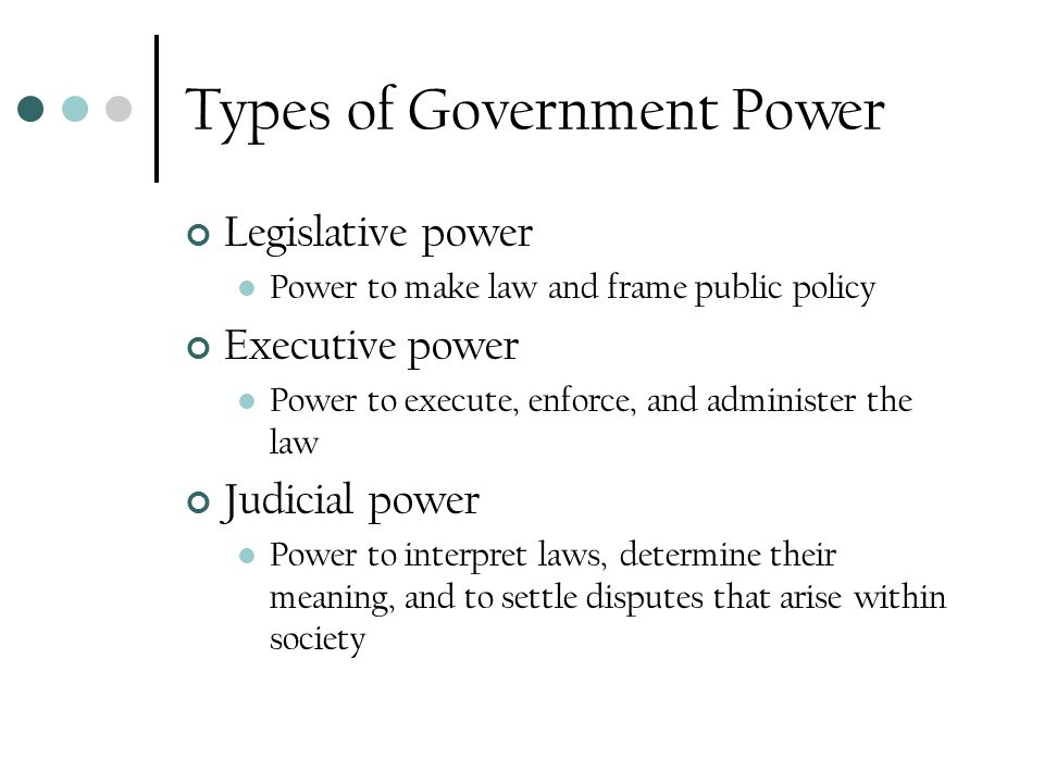 Government Basics Mini-Unit. What is government? Government – the ...